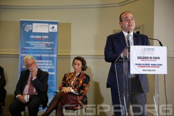 Abdel-Latif Menawi, patron de la chaîne de télévision égyptienne Al-Ghaad.