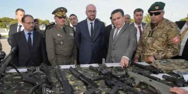 La Belgique, second livreur d'armes à la Tunisie après la France.