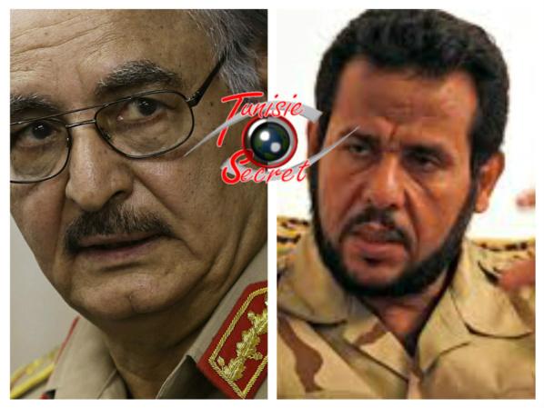 Le général de l'armée libyenne soutenu par la Russie, l'Egypte et les Emirats Arabes Unis, et le terroriste d'Al-Qaïda.soutenu par le Qatar, la Turquie et la France.