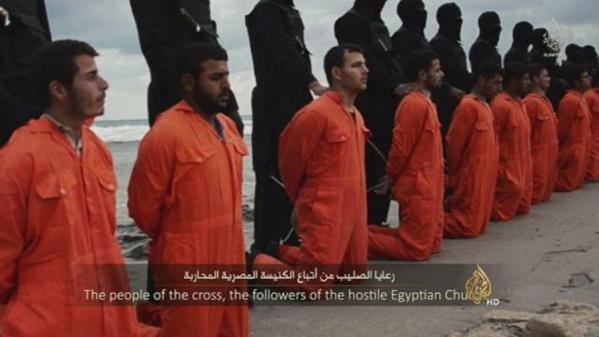 La scène d'horreur propagée par la chaîne de propagande islamo-terroriste, Al-Jazeera.