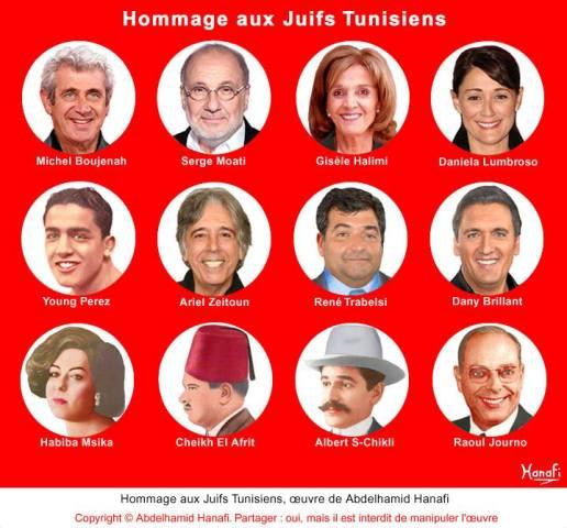 Hommage aux Juifs Tunisiens, par Abdelhamid Hanafi