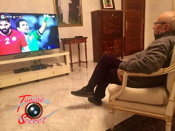Béji Caïd Essebsi en pleine méditation philosophique et réflexion géopolitique !