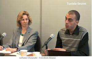 Sofiane Chourabi, un membre de la secte Freedom House (CIA)