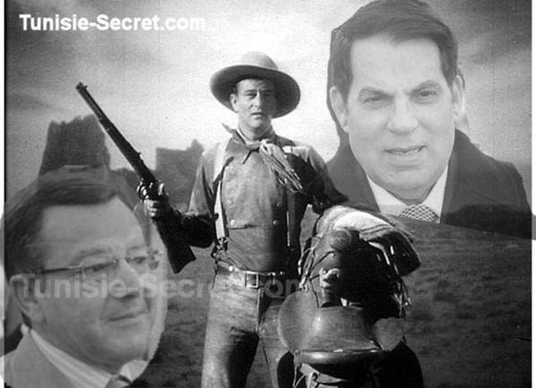 John Wayne, le mystérieux Cowboy de Ben Ali tire sur Kamel Eltaïef