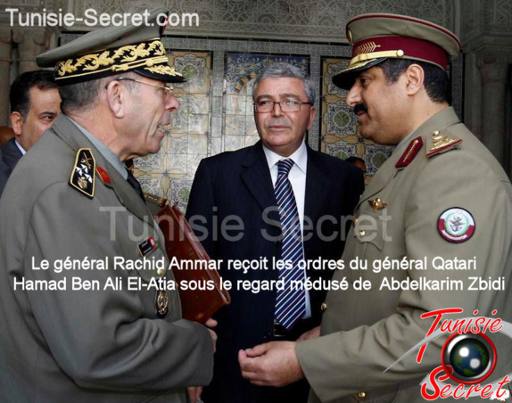 Tunisie : Rachid Ammar place l'armée tunisienne sous commandement qatari
