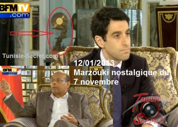 Scandale à Carthage : Moncef Marzouki nostalgique du 7 novembre. Voici la preuve