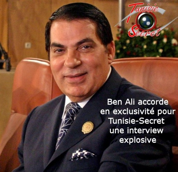 Ben Ali accorde en exclusivité pour Tunisie Secret une interview explosive