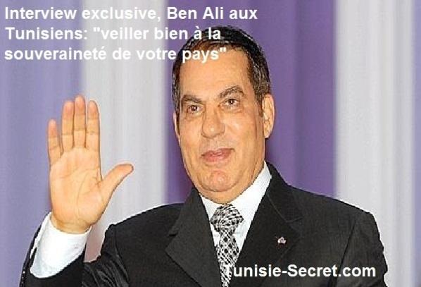 Ben Ali affirme que jamais aucun ordre n'a été donné pour tirer sur les manifestants