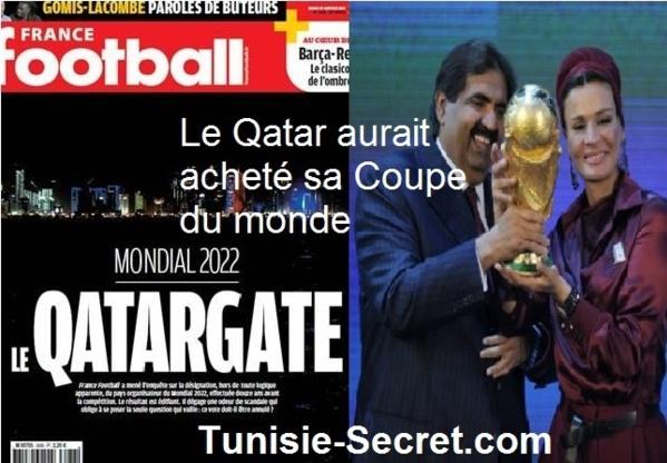 Le Qatar aurait acheté sa Coupe du monde !