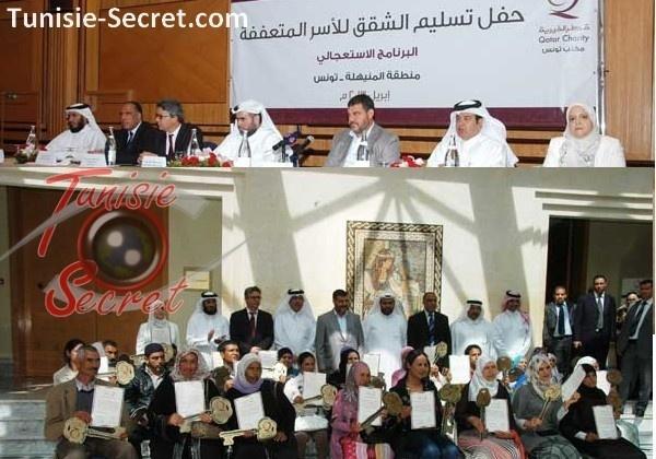 Qatar Charity a offert 7,5 millions d'euros à trois associations tunisiennes