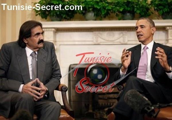 Obama sacrifie ses arabes de service, cheikh Hamad et son Premier ministre