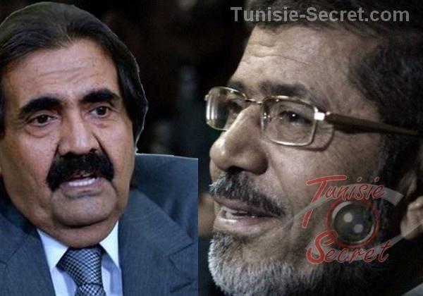 Le limogeage du criminel Hamad entraine la chute du traitre Morsi