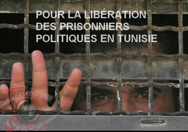 Pétition internationale pour la libération des prisonniers politiques en Tunisie
