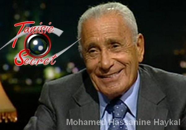 Mohamed Hassanine Haykal, cerveau du changement en Egypte