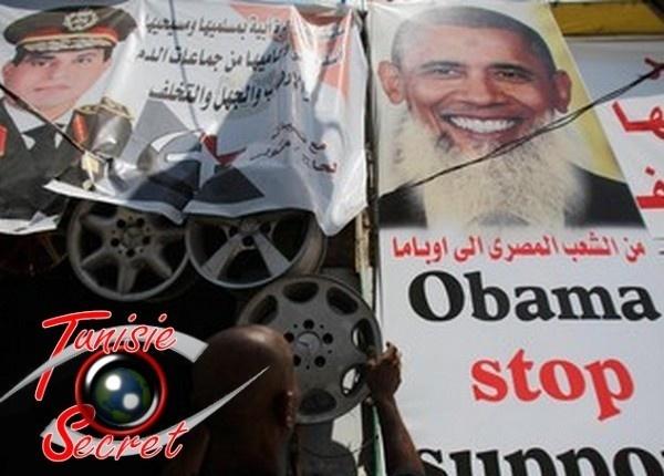 Le général Al-Sissi refuse de prendre au téléphone Obama