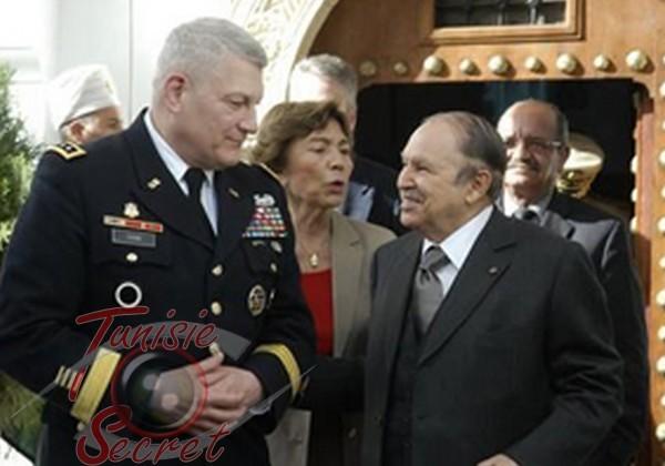 Bouteflika confirme le projet d'une base militaire américaine en Tunisie
