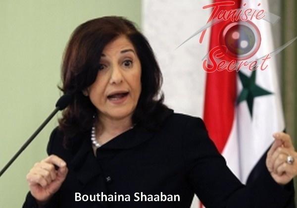 La conseillère politique de Bachar Al-Assad monte au créneau