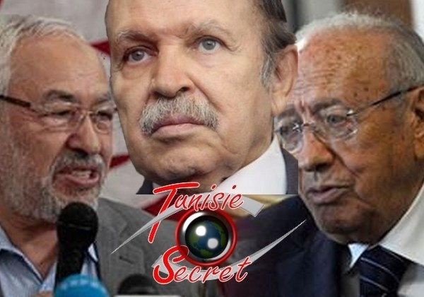 Bouteflika exige la stabilité en Tunisie et soutient le partage du pouvoir entre Ghannouchi et Béji