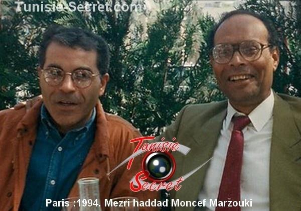 Selon Mezri Haddad, Moncef Marzouki a adhéré aux Frères Musulmans depuis 1998.