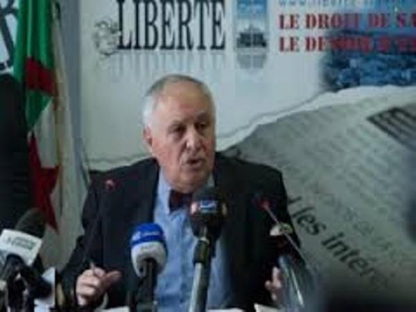 Sid Ahmed Ghozali invité du Forum Liberté