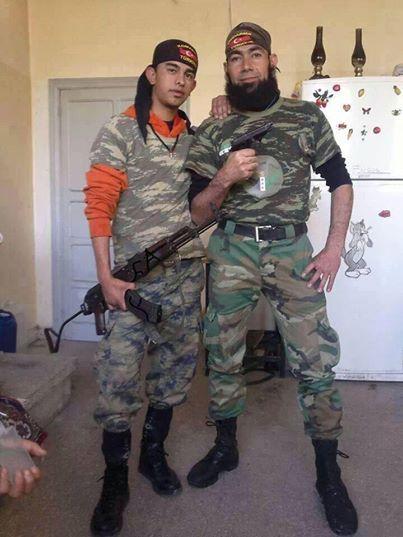 Des islamo-terroristes syriens aux couleurs de la gendarmerie turque !