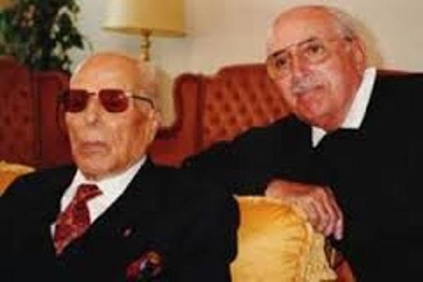 Le combattant suprême, en compagnie de son fils Habib Bourguiba Junior.