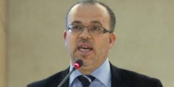 Samir Dilou, ancien ministre islamiste de la Justice et membre de Freedom House.