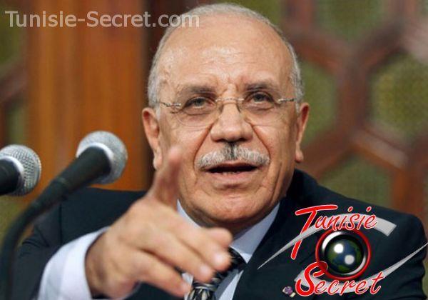 Rafik Belhaj Kacem, ancien ministre de l'Intérieur, à l'époque où la Tunisie était un pays prospère, paisible et souverain.