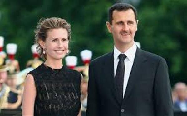 Bachar al-Assad et son épouse, un jeune couple moderniste que l'Occident espère remplacer par la racaille islamo-fasciste.