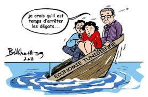 Le bateau ivre de la Tunisie. Sous des slogans mobilisateurs pour peuples incultes, la destruction de la Tunisie a commencé dès janvier 2011.