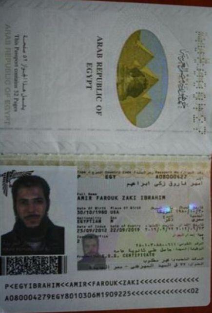 Une crapule égyptienne de nationalité américaine, Farouk Zaki Ibrahim.