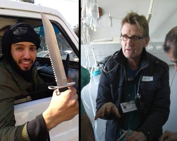 Faïçal Awad al-Anzi, l'égorgeur intégriste, et Mads Gilbert le chirurgien humaniste. Deux hommes, deux civilisations !