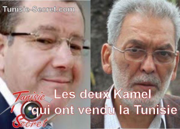 Les deux Kamel qui se ressemblent et qui s'assemblent. Le troisième n'est pas sur la photo parce qu'il est d'une autre nature et d'un autre niveau.