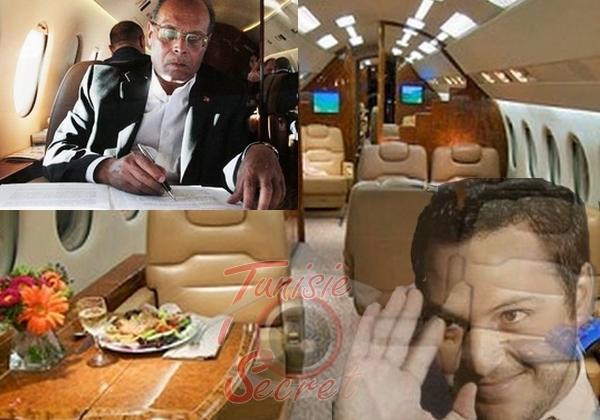 M.Marzouki emprunte l'avion de Sakhr el-Materi pour se rendre à New York