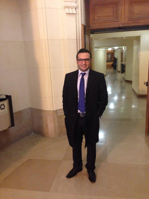 Nader Haddad, un jeune universitaire tunisien qui croit encore à l'islam politique qu'il defferencie de l'islamo-terrorisme.