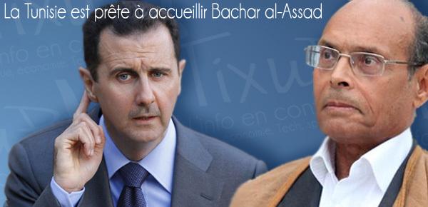 Poussé par ses maîtres qataris, le mercenaire Moncef Marzouki proposait en 2011 l'asile au leader Bachar El Assad. Aujourd'hui que l'Histoire a donné raison à celui-ci, l'usurpateur de Carthage doit se préparer à un long exil à Doha !