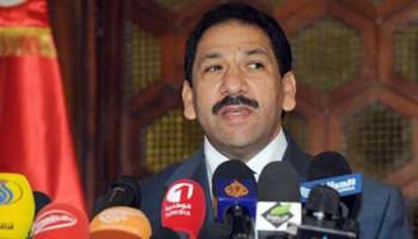 Lotfi Ben Jeddou, le ministre de l'Intérieur en Tunisie.