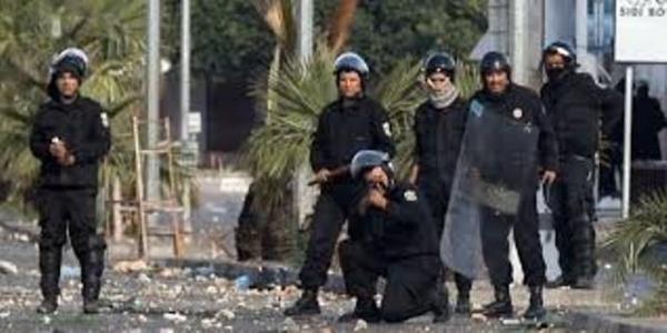 Ce n'est pas la police tunisienne mais la police belge.