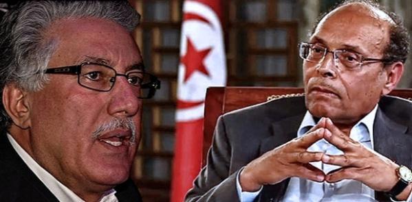 Plus Hamma Hammami s'élève, plus Moncef Marzouki s'avère tout petit.