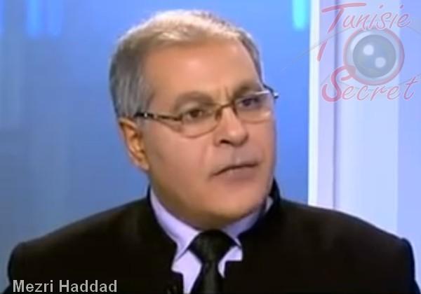 Mezri Haddad, philosophe et ancien Ambassadeur de Tunisie à l'UNESCO.