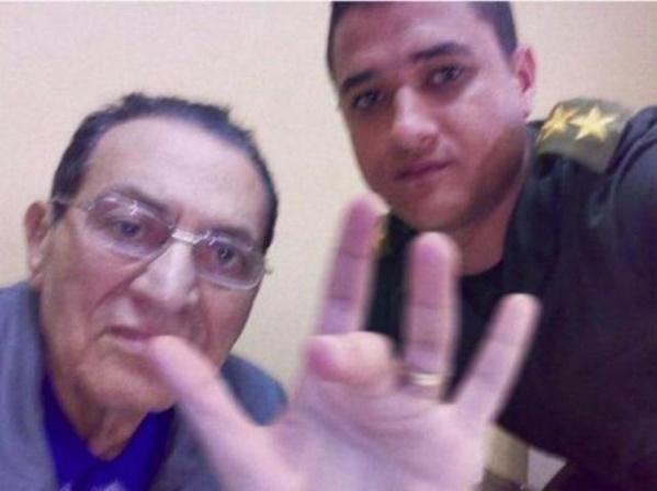 Photo truquée par les cyber-islamistes égyptiens.