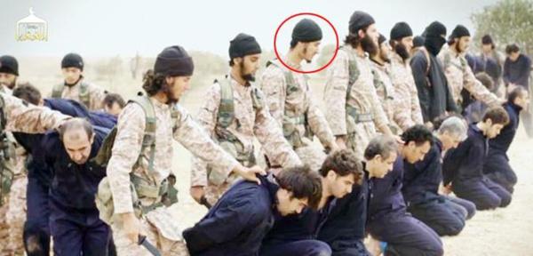 Novembre 2014, vidéo diffusée par Daesh montrant des terroristes qui décapitent de sang froid 18 soldats syriens ainsi que l'otage américain Peter Kassig. Parmi les psychopathes Marouen A. un ex-étudiant à l'ENSI de Monastir.