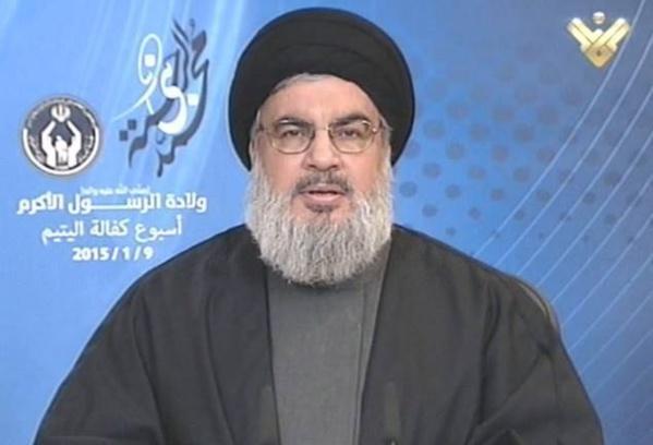 Hassan Nasrallah, chef spirituel du Hezbollah.