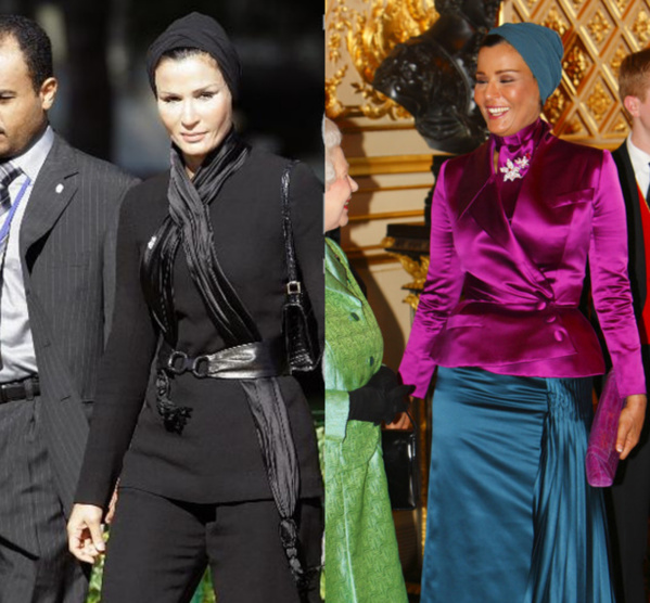 Cheikha Moza, la top modèle islamiste dépense 8500 millions de dollars pour ses robes