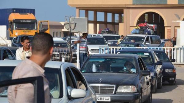 Flux massif aux frontières tuniso-libyennes.