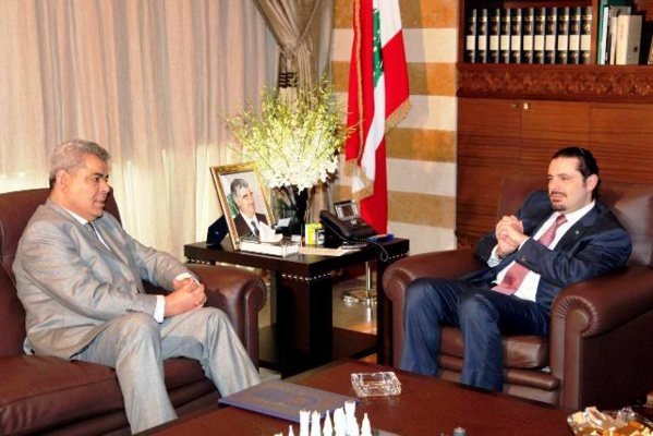 Samir Abdellah, alors Ambassadeur de la Tunisie au Liban.