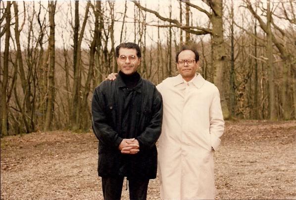 Mezri Haddad et Monce Marzouki en France au début des années 1990, lorsqu'ils étaient amis.