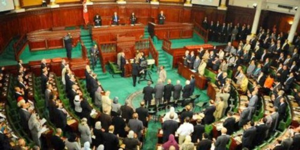 Photo de l'Assemblée Constituante qui a reconduit le vieux bail colonialiste en Tunisie !