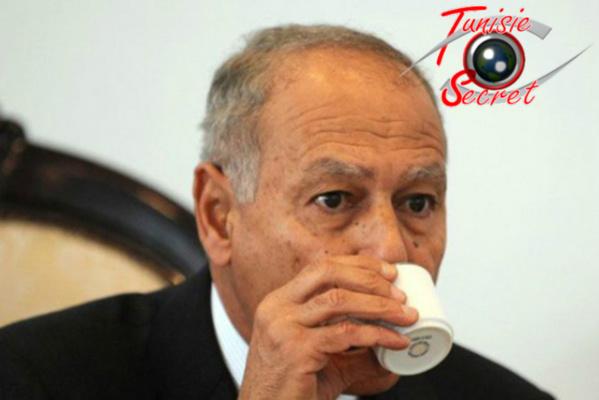 Nabil Al-Arabi en pleine concentration... et négociation !