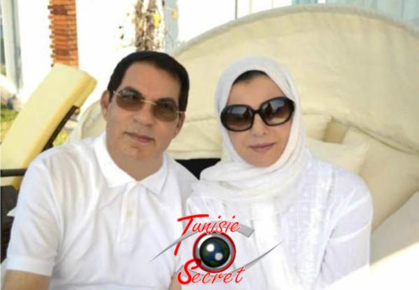 Dernière photo prise de leur exil à Ryad de l'ancien couple présidentiel, Zine Al-Abidine Ben Ali et Madame Leila Trabelsi.